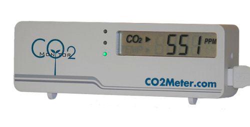 Измеритель уровня углекислого газа